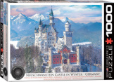 Neuschwanstein Castle in Winter 1000 Pieces