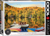 Lakeside Cottage Quebec 1000 Pieces