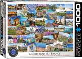 Globetrotter France 1000 Pieces
