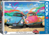 VW Beetle Love 1000 Pieces