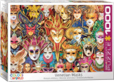 Venetian Masks 1000 Pieces