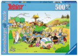 Asterix - The Village 500 Pieces
