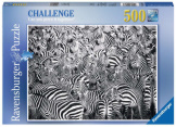 Zebra Challenge 500 Pieces