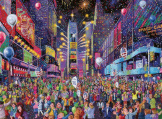 New Years in Time Square 500 Pieces