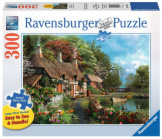 Cottage on a Lake 300pc Large Format Puzzle