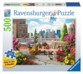 Rooftop Garden 500pc Large Format Puzzle