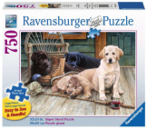 Ruff Day 750pc Large Format Puzzle