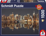New York Skyline At Night 1500 piece puzzle