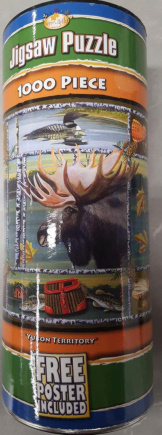 Yukon Territory 1000PCS Tube With Poster