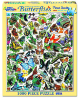 World's Most Beautiful Butterflies 1000 Pieces