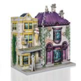 Madam Malkin's™ and Florean Fortescue's Ice Cream™ - 290 piece 3D Puzzle