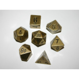 Chessex Dice RPG Metal Old Brass