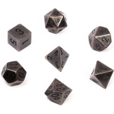 Chessex Dice RPG Metal Dark Metal