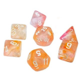 Chessex Dice RPG 7 Set Nebula Supernova Luminary