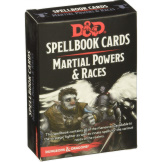 D&D 5th Ed. Spellbook Cards Martial Powers & Races