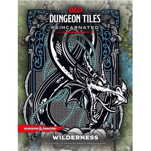 D&D 5th Ed. Dungeon Tiles Reincarnated Wilderness