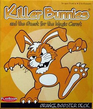 Killer Bunnies Quest For The Magic Carrot Orange Booster