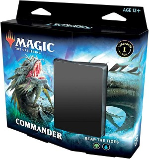 Commander Legends Pre Con Reap The Tides