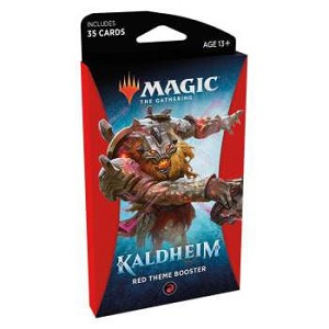 Kaldheim Theme Booster Red