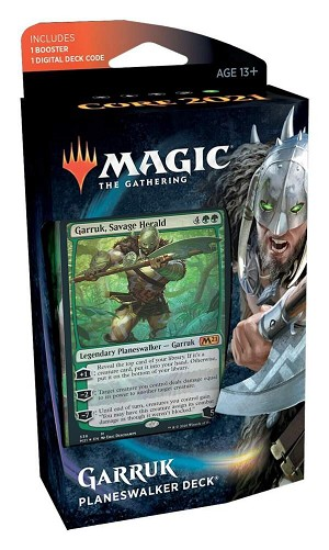 Core Set 2021 Planeswalker Deck Garruk