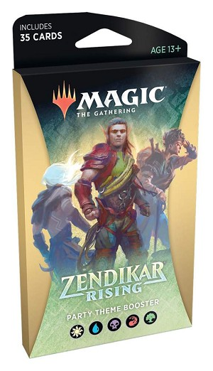 Zendikar Rising Theme Booster Party