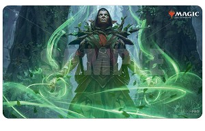 Core Set 2021 Playmat V3 Llanowar Visonary
