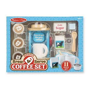 Brew & Serve Coffee Set Wooden