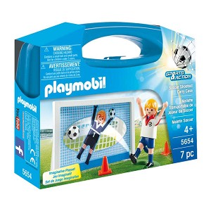Playmobil Soccer Shootout Carrying Case