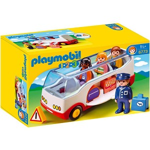 Playmobil 1-2-3 Airport Shuttle Bus