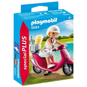 Playmobil Beachgoer with Scooter