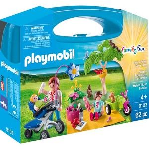 Playmobil Family Picnic Carrying Case