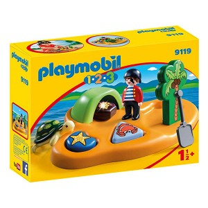 Playmobil 1-2-3 Pirate Island