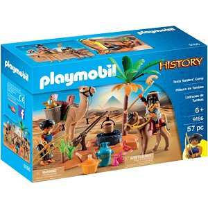 Playmobil Tomb Raiders' Camp