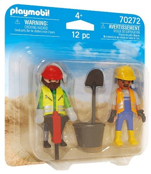 Playmobil Construction Workers