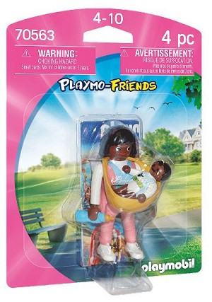 Playmobil Mother with Baby Carrier