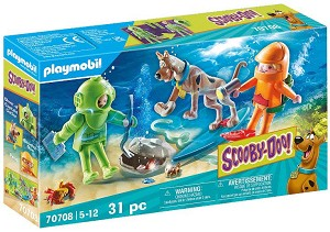 Playmobil Scooby-Doo Adventure with Ghost Diver