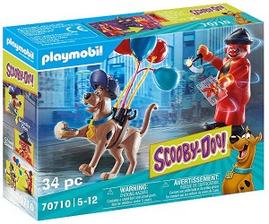 Playmobil Scooby-Doo Adventure with Ghost Clown