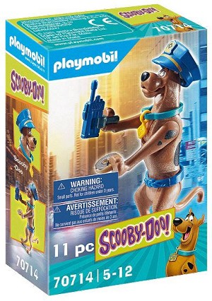 Playmobil Scooby-Doo Collectible Police