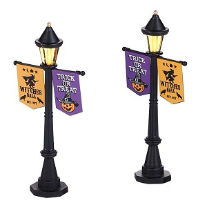 Halloween Festival Street Lamps (set of 2)
