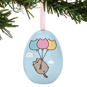 Pusheen Tin Egg Flying Away