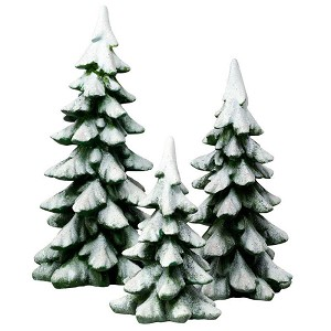 Winter Pines - Set of 3