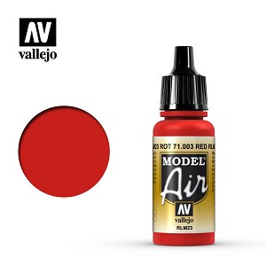 Vallejo Model Air Scarlet Red 17ml