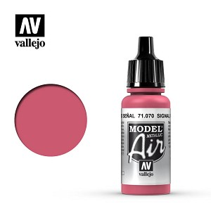 Vallejo Model Air Signal Red 17ml