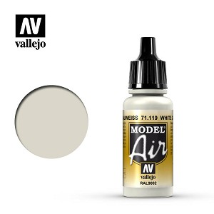 Vallejo Model Air White Grey 17ml