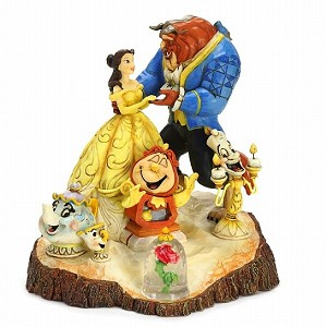 Beauty & the Beast Carved by Heart