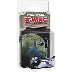 Star Wars X-Wing Miniatures Inquisitor's Tie