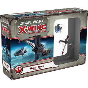 Star Wars X-Wing Miniatures Rebel Aces
