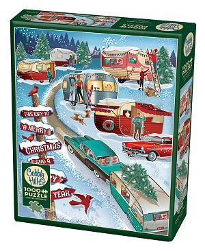 Christmas Campers 1000 pieces