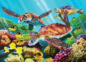 Molokini Current 350 piece family puzzle