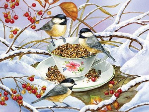 Chickadee Tea 275 pieces